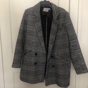 ASOS Houndstooth Coat